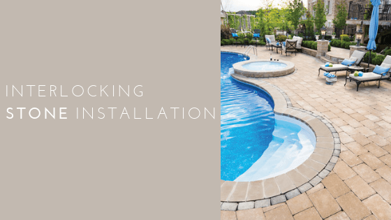 Interlocking Stone Installation